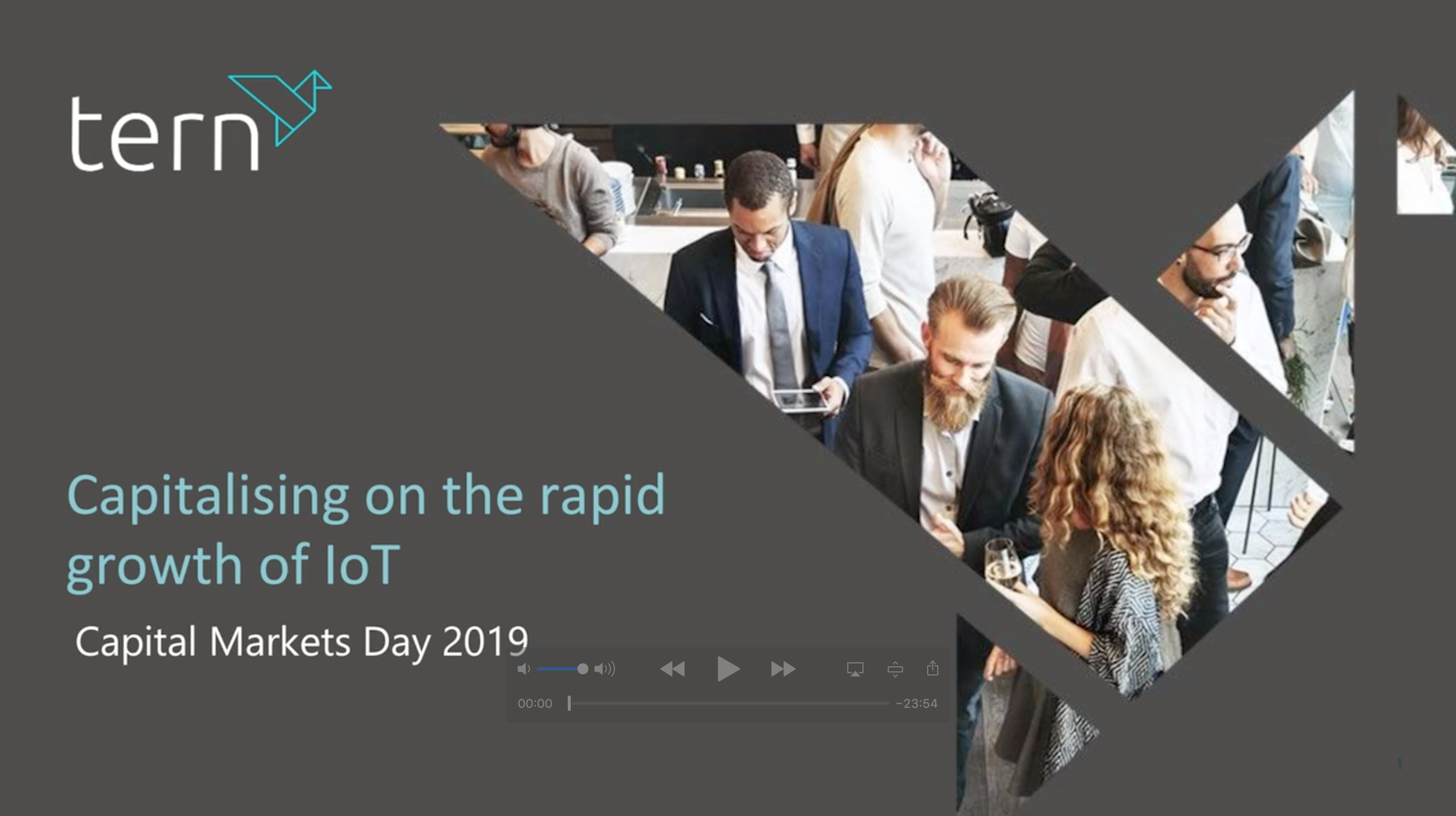 Capital Markets Day video