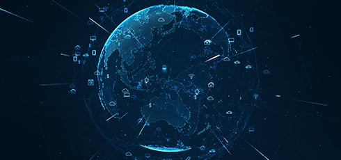 How is satellite technology used in IoT?
